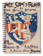 Uncle Sam's Church Spiral Notebook