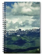 Uncompahgre Colorado Alpine Spiral Notebook