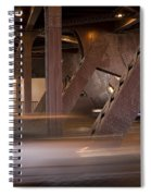 Under A Bridge Spiral Notebook