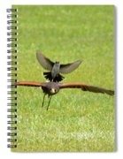 Under Attack Spiral Notebook