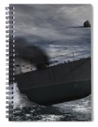 Under Attack Spiral Notebook