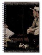 Under My Tent Spiral Notebook