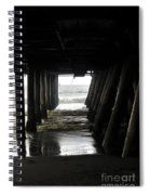 Under Santa Monica Pier Spiral Notebook
