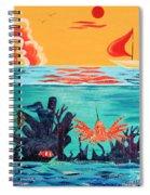 Bright Coral Reef Spiral Notebook