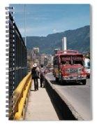 Under Skyline Spiral Notebook