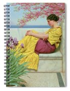 Under The Blossom That Hangs On The Bough Spiral Notebook