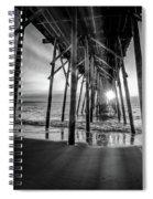 Under The Boardwalk Bw 1 Spiral Notebook