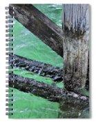 Under The Boardwalk Spiral Notebook
