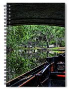 Under The Bridge Painted Spiral Notebook