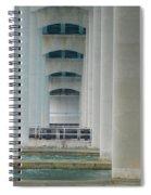 Under The Brigantine Bridge Spiral Notebook