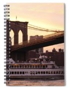 Under The Brooklyn Bridge  Spiral Notebook