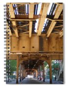 Under The El - 1 Spiral Notebook