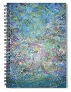 Under The Garden Spiral Notebook