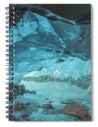 Under The Glacier Spiral Notebook