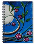 Under The Glowing Moon Spiral Notebook