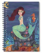 Under The Merlight Sea Spiral Notebook
