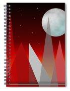 Under The Night Sky Spiral Notebook