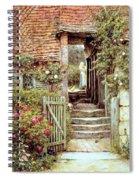Under The Old Malthouse Hambledon Surrey Spiral Notebook