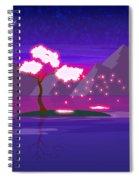 Under The Phoenix Tree Spiral Notebook