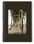 Under The Pier Spiral Notebook