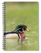 Under The Rain Spiral Notebook