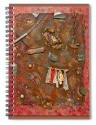 Under The Rainbow Spiral Notebook