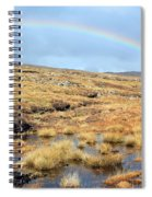Under The Rainbow Spiral Notebook