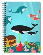 Under The Sea-jp2988 Spiral Notebook