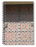 Under The Shadow Spiral Notebook