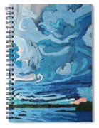 Under The Storm Spiral Notebook