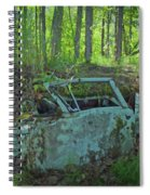 Under The Trail Spiral Notebook