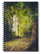 Under The Tree Spiral Notebook