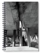 Under The Viaduct A Urban View Spiral Notebook