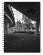 Under The Viaduct D Urban View Spiral Notebook