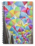 Under Umbrellas Spiral Notebook