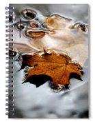 Under Water Fall Spiral Notebook