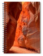 Underground Desert Lights Spiral Notebook
