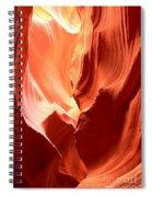 Underground Pastel Flames Spiral Notebook