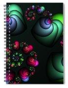Underground Universe Spiral Notebook