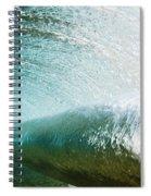 Underwater Barrel Spiral Notebook