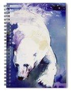 Underwater Bear Spiral Notebook
