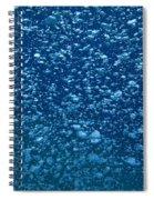 Underwater Bubbles Spiral Notebook