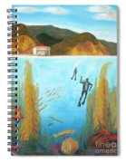 Underwater Catalina Spiral Notebook