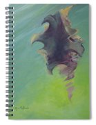 Underwater Glow Spiral Notebook