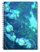 Underwater Statues Spiral Notebook