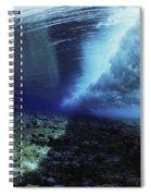 Underwater Wave - Yap Spiral Notebook