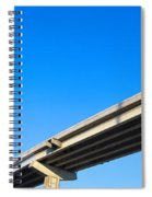 Unfinished Freeway Ramp Spiral Notebook