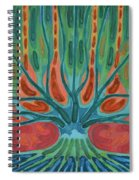 Unfinished Tree Spiral Notebook