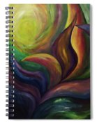 Unfolding Spiral Notebook