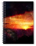 Raising The Curtain Spiral Notebook